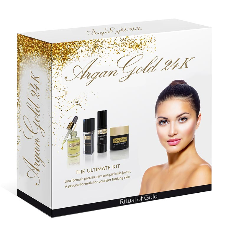 Pack Argan Gold 24k